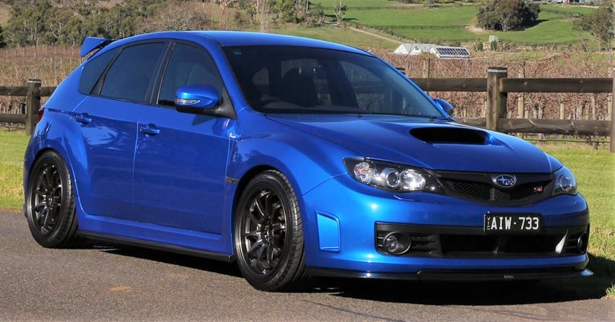 2008 2010 Sti Hatchback Bottomline Lip Kit Oz Sti